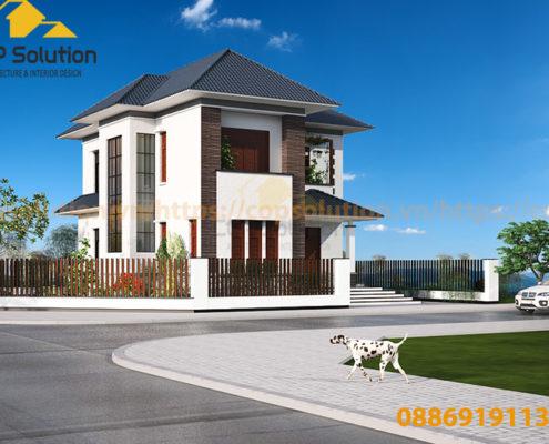 biệt thự đẹp tại Nam Định