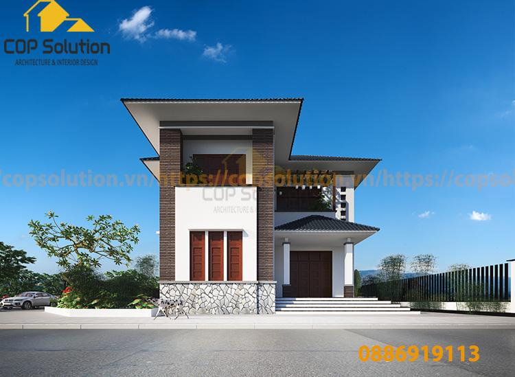 biệt thự tân cổ điển tại Nam Định