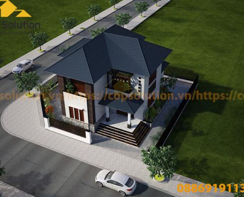 biệt thự 2 tầng tại Nam Định