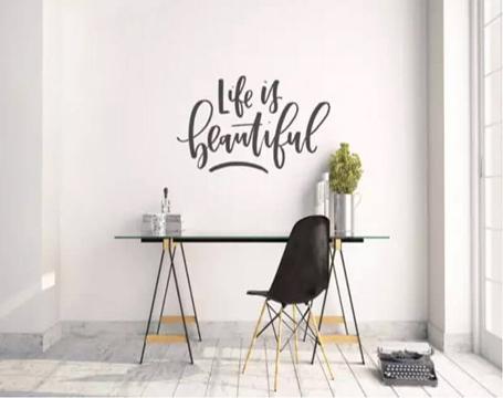 Trang trí tường không dùng sơn