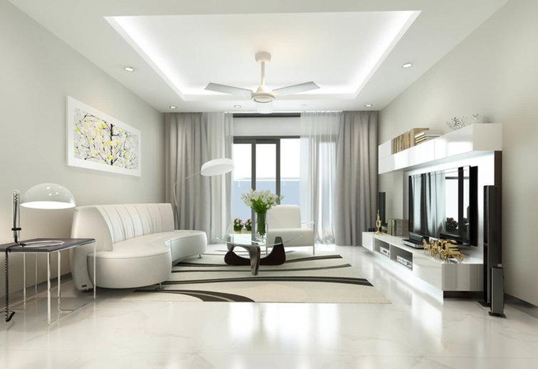 Hôm nay tôi muốn nói đến màu trắng trong thiết kế nội thất view1