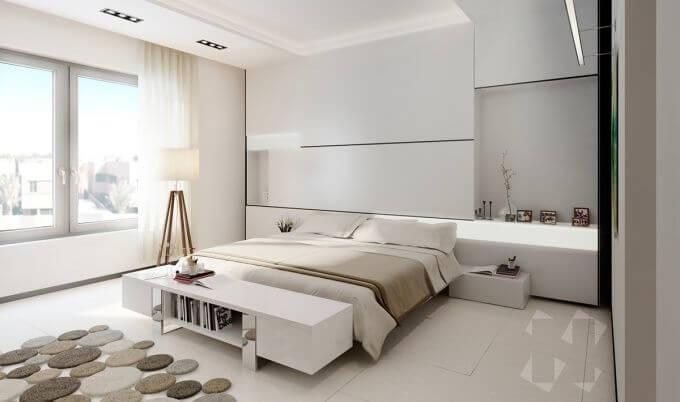 Hôm nay tôi muốn nói đến màu trắng trong thiết kế nội thất view4