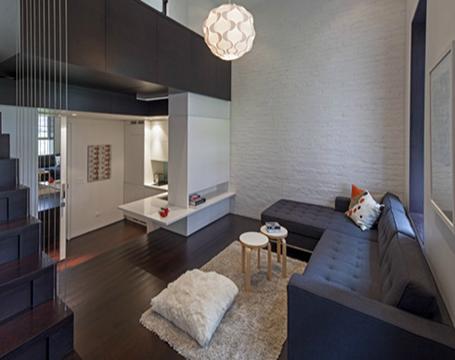 thiết kế không gian căn hộ nhỏ