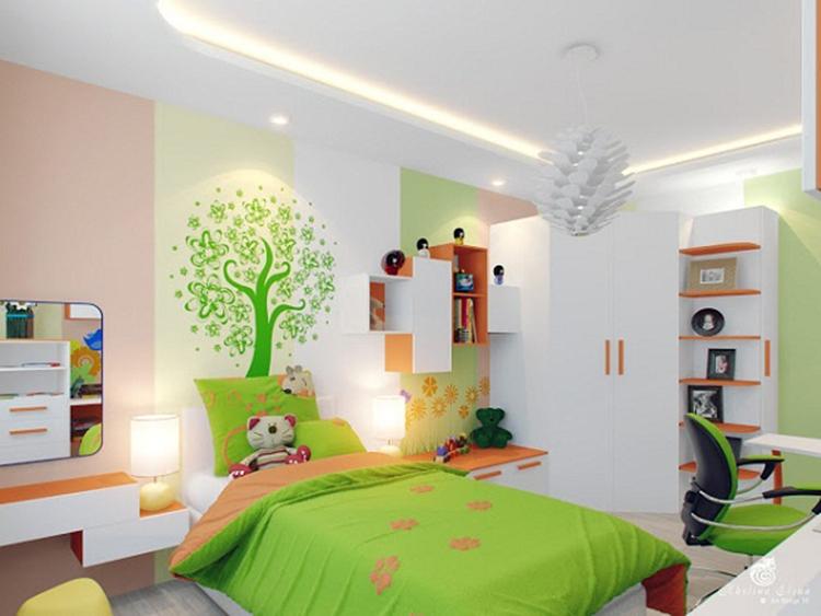 nội thất phòng ngủ nhỏ đa năng
