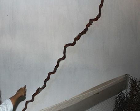 khắc phục trần nhà bị nửt