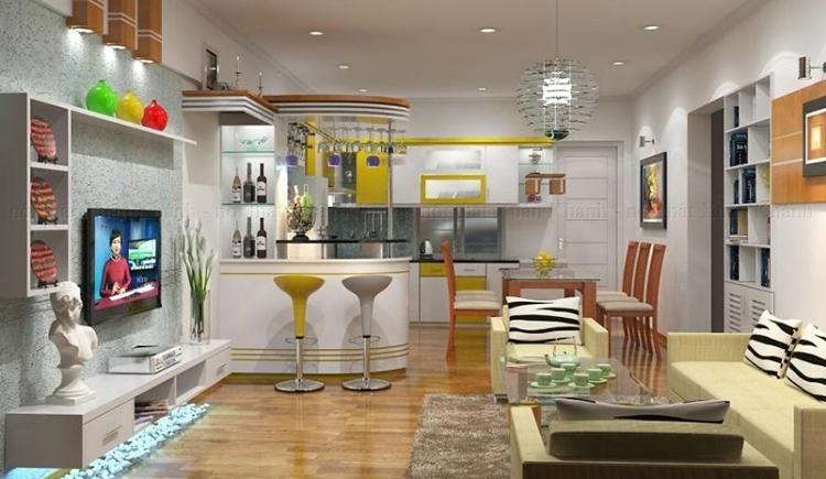 kinh nghiệm thiết kế nội thất chung cư
