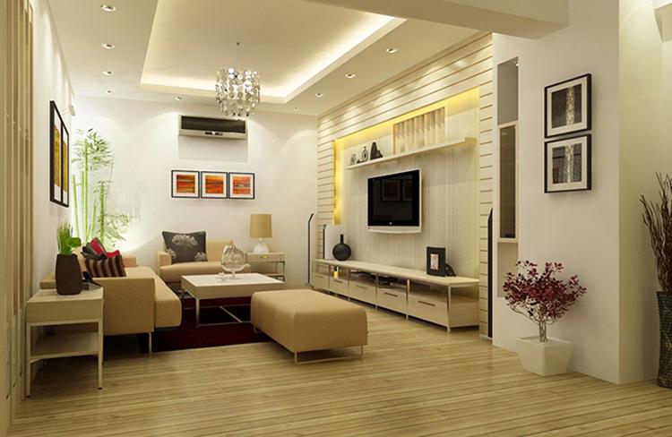 thiết kế không gian phòng khách nhỏ