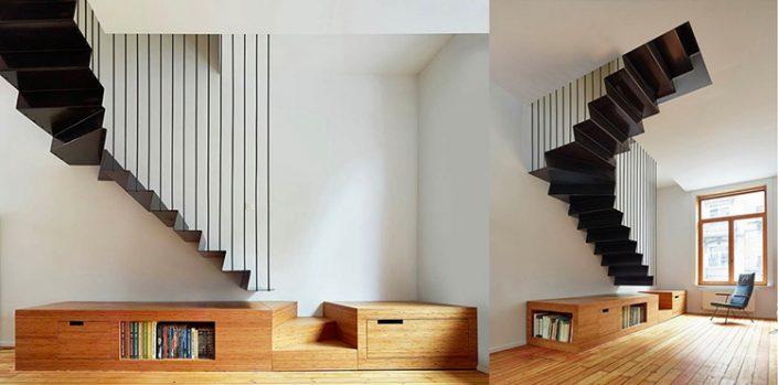 chọn hướng cho cầu thang