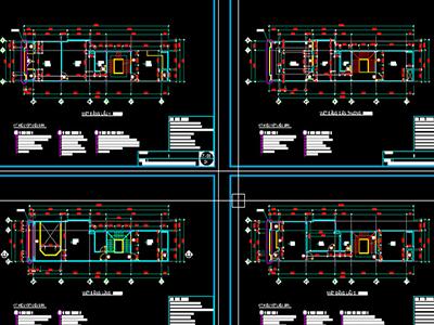 Bản vẽ thiết kế nhà 5 tầng