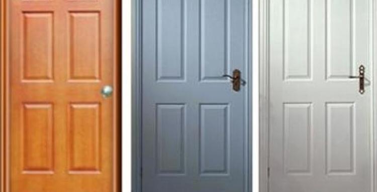 ứng dụng gỗ HDF là cửa