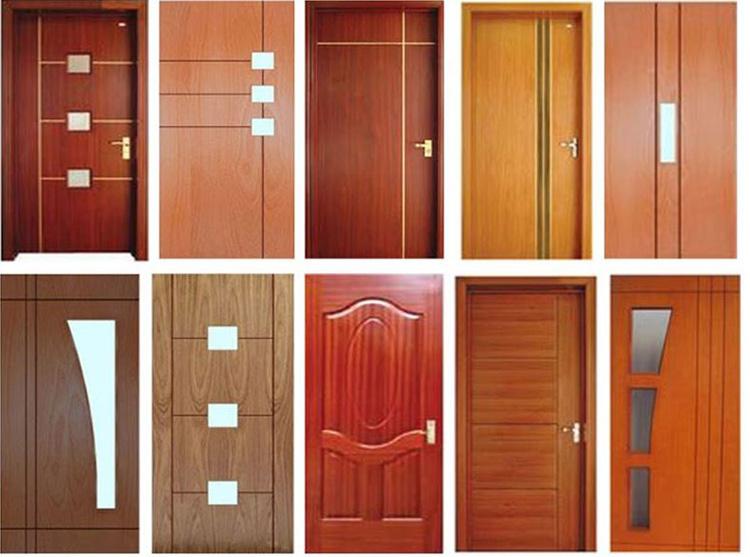 các loại cửa làm từ gỗ plywood