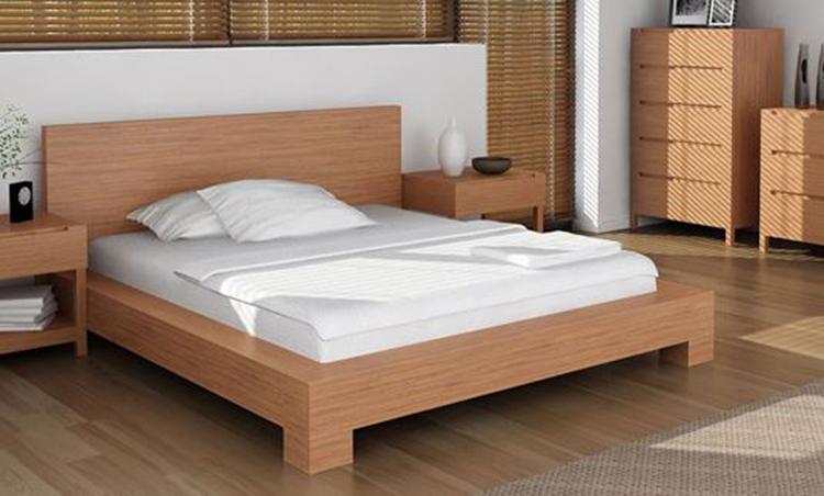 Giường làm từ gỗ HDF
