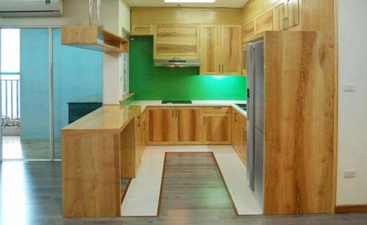 sản phầm phòng bếp làm từ gỗ MDF