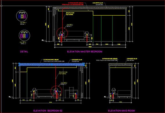 sơ đồ bố trí mạch điện trong nhà