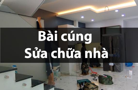 Cúng sửa nhà