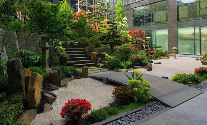 vườn thiền mini