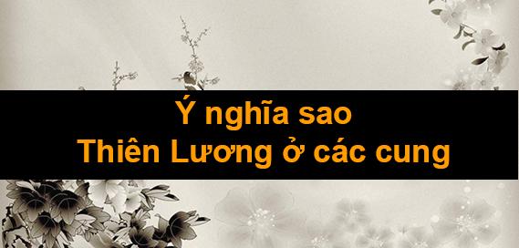 Ý nghĩa sao <b>Thiên Lương</b> ở các cung